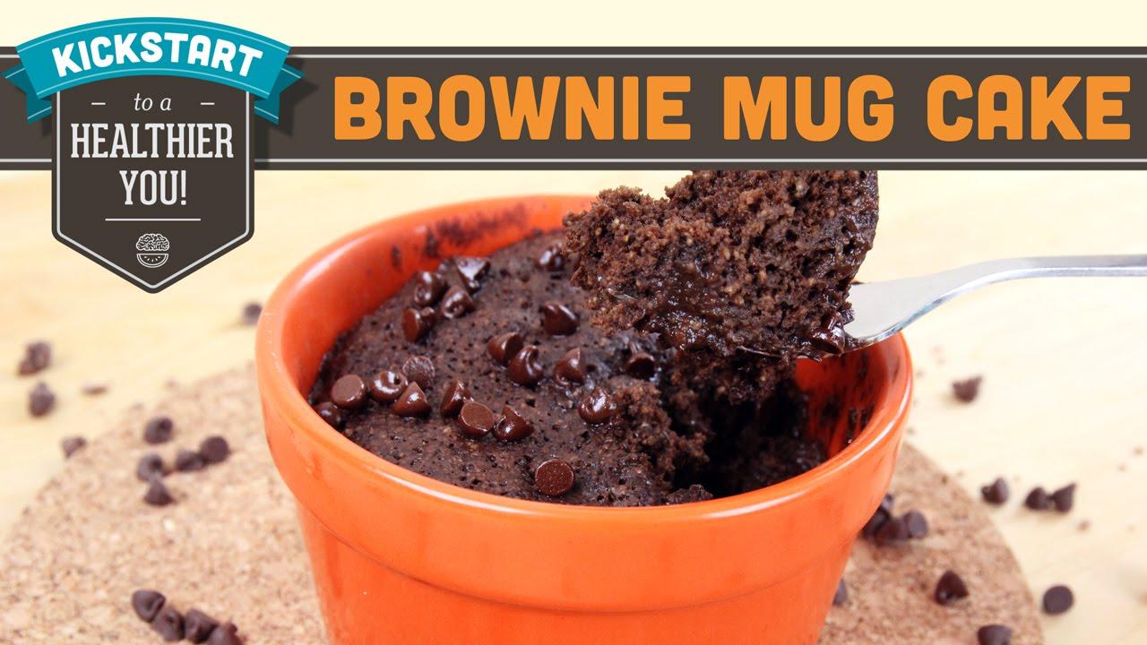 Microwave Chocolate Fudge Cake Mug